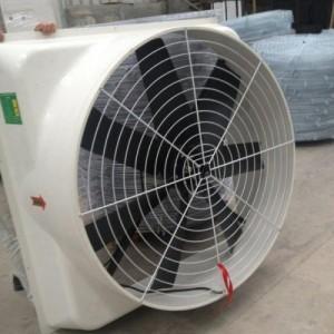 青岛畜牧风机喷塑网罩 养殖场通风机护网金属网罩