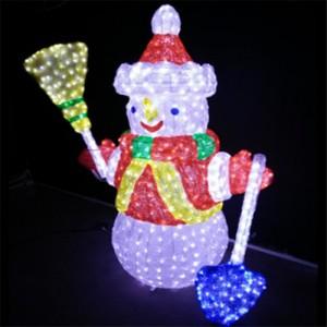 长期供应 LED圣诞装饰灯 滴胶动物灯 立体造型灯 节日装饰