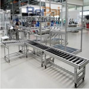 料盒装袋抽真空封装机工业铝型材非标自动化工作台定制生产40欧