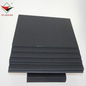 东莞天山500gA级双面透心黑色 包装盒衣服吊牌包装纸
