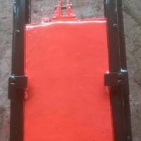 1.5米*1.5米PGZ弧形铸铁闸门安装使用
