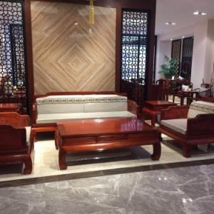 东阳红木家具 缅花 客厅沙发