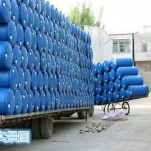 永固出口级化工包装桶 200公斤蓝色双环塑料桶  结实耐用