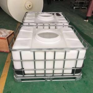 500L矮胖吨桶化工塑料集装桶厂家直供