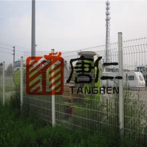浸塑铁丝网双边铁丝网护栏网 建筑防护网 工地防护网 养殖网