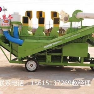 农业收货机械花生秧除膜揉丝机 干湿分离花生秧除膜机械厂家