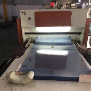 生产厂家供应透明PVC服装模板衣服内衬模板PVC片材磨砂吊牌