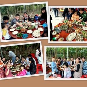 深圳农家乐 九龙生态农业园趣味野炊 射箭 娱乐休闲一日游