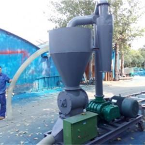 环保设备出仓高扬程风力输送机 化工粉粒原料无尘气力输送机xy