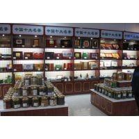 成都茶叶柜茶叶展柜展示柜货柜货架专业制作定做厂家