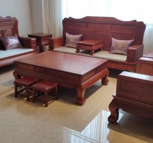 东阳红木缅甸花梨木家具沙发厂家直销