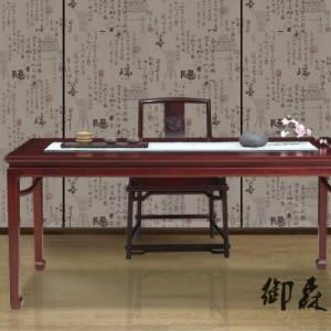 老挝红酸枝书桌-红木书桌价格-红木家具价格-明式家具