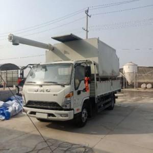农业饲料机械设备 饲料加工厂专用饲料运输拉运罐