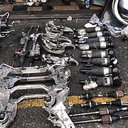 上海市回收发动机变速箱众泰汽车配件众泰下线试验配件厂家