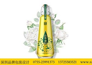 山茶籽油礼盒包装设计  深圳包装设计公司