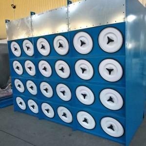 斜插式滤筒除尘器除尘净化原理分析