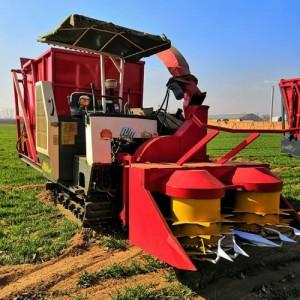 养殖业机械 大型全自动玉米秸秆青储机 秸秆自走履带式青储机