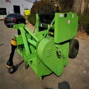 农业机械设备牵引式秸秆打捆机 饲料青储机拖拉机带打包机