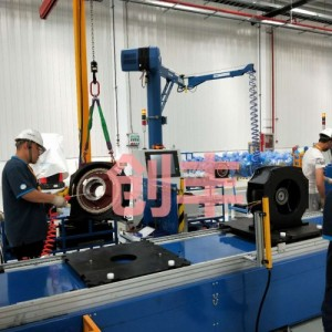 龙港自动化转子装配线加工定制 创丰-电梯曳引机流水线厂家定做