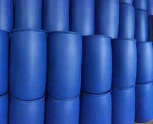 河北邢台蓝色化工桶 200升塑料桶 化工专用包装桶 规格齐全