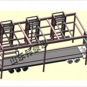 定制全自动面粉装卸车系统 自动化袋料装车机械手