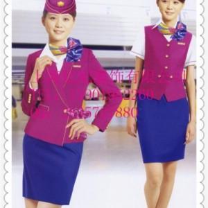 上海导诊工作服空姐制服导医工作服职业女裙套装厂家定做