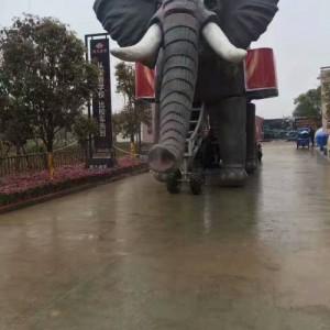 江西赣州商业活动巡游展示机械大象出租花车造型定制出租