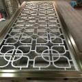 创意花形不锈钢屏风 现代风家居金属花格 专业定制不锈钢隔断