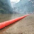 整體式攔污浮桶河道攔污索水庫飄浮物導流漂設施