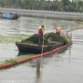 山東取水口浮式攔污排尺寸 長期供應水庫攔污浮筒施工方案