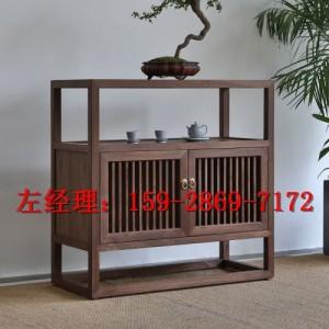 中药房实木定制家具-中式中药柜坐诊台办公桌