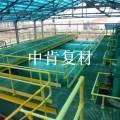 化工鋼結構平臺用防火阻燃玻璃鋼格柵板