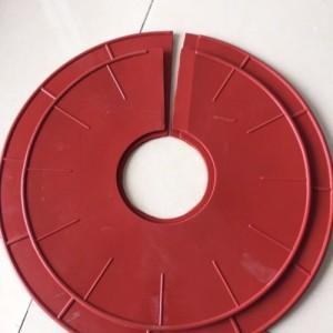 电力绝缘材料大吕电力格力特硅橡胶防污闪增爬伞裙供应