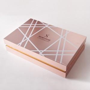 广东精品天地盖礼盒厂家 UV印刷精油护肤品包装盒定制