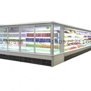 温州鲜花保鲜风幕柜尺寸图片 超市蔬菜风幕柜厂家供应