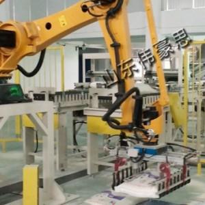 定制袋料全自动码垛系统 氧化铝包装码垛机生产商