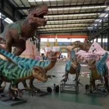 广东有声有色动态恐龙模型出租恐龙展主题安装出租厂家