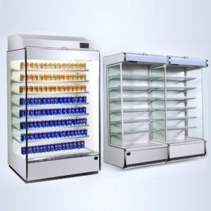 泰州水果蔬菜风幕柜厂家定做 节能超市蔬菜风幕柜价格实惠