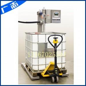 吨桶不锈钢材质液体灌装机