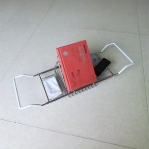 厂家直销浴缸架置物架多功能不锈钢浴缸架手柄可伸缩浴缸收纳架