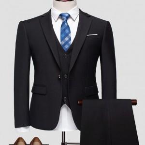 萝岗工装衬衫男商务套装销售工作服定制