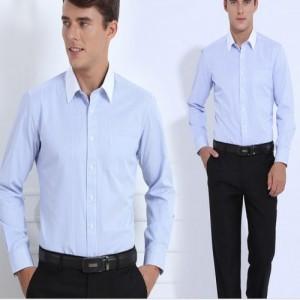 增城区工装衬衫男商务套装销售工作服定制