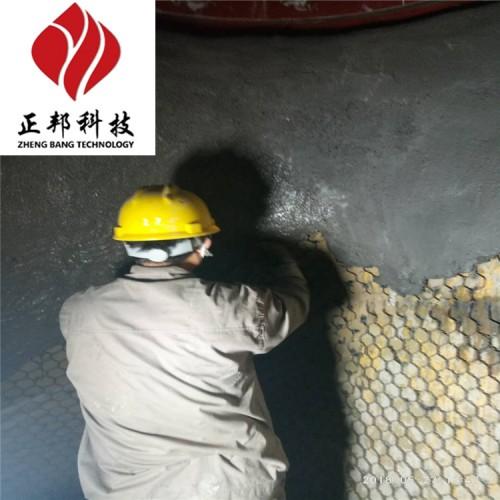 高强耐磨涂料关于生料风管的应用