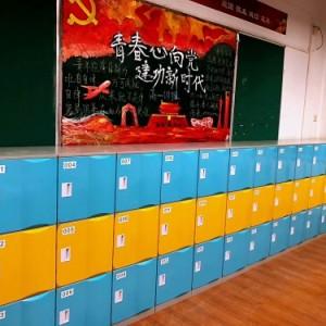 中小学生教室储物柜班级收纳柜学生书包柜学校矮柜彩色塑料柜现货