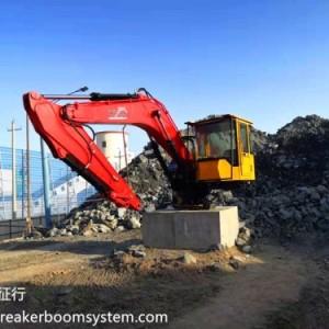 山东元征行厂家直供多功能固定式电动液压破碎工程机械手