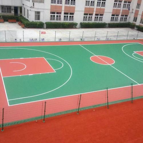 《【二号站娱乐测速登录】柳州丙烯酸篮球场地面施工程序》