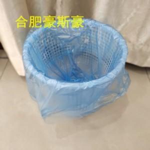 45*55PE蓝色合肥环保垃圾袋现货黑色塑料家用垃圾袋定制