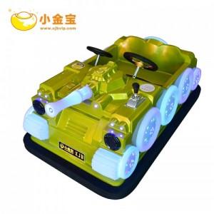 国内火爆游戏卡丁车儿童电动坦克玩具车碰碰车厂家诚信优质