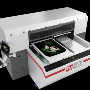 广州慧杰双工位服装数码打板印花机支持小批量个性印花机加工