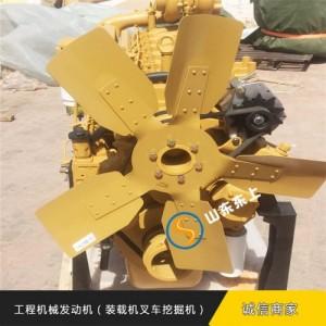 潍柴75KW静音箱柴油发动机组 水产养殖铲车应急低噪发动机